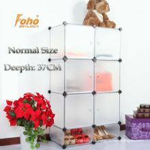 White Plastic DIY Storage Cbinet with Many Colors Available (FH-AL0525-6)