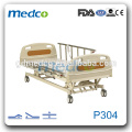 Manufacturer Supply Three Functions Hospital Electric Bed Price P304