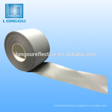 100% polyester silver reflective fabric or tape