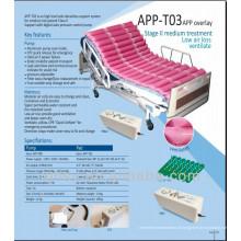 Pression alternée TPU matelas de recouvrement ventilé avec pompe APP-T03
