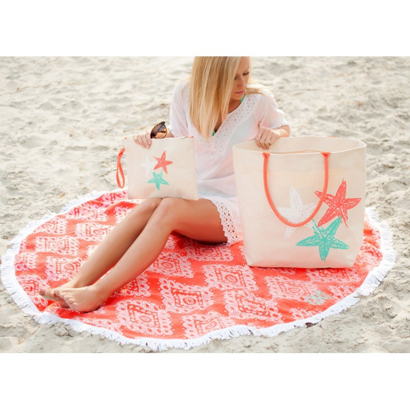 Round Beach Towel Blanket