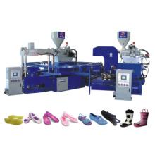 Machine de type triangle en forme de V pour fabriquer des chaussures en gelée