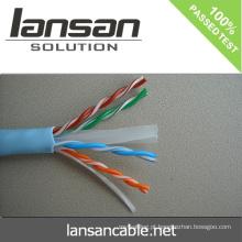 300m cat6 Passagem de cabo de rede UTP UL ISO ROSH