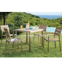 Outdoor Patio Garden Rattan Dining Pool Furniture