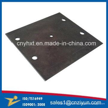 Service de pièces détachées laser en tôle d'acier avec revêtement en poudre