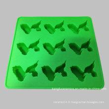 Plateau fait sur commande de cube de glace de vaisselle de Silicone