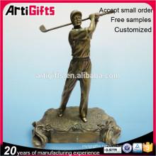 Promotional Cheap Custom Metal Golf Trophy