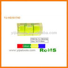 Flacon de niveau carré acrylique YJ-HG151740