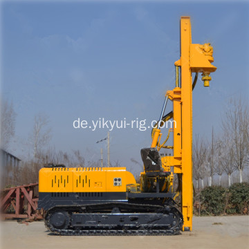 300 m Solar Photovoltaic Highway Slope Plie Drilling Rig