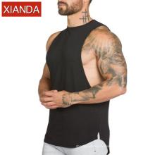 Wholesale Mens Sleeveless loose Tank Tops Fitness Gym Wear Man Fitness Vest Stringer OEM Custom