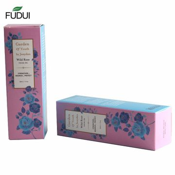 Creative recycled customized paper box packaging wholesale