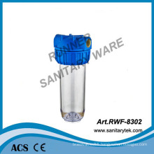 Pipe-Mounted Filter Housing with Vent (RWF-8302)