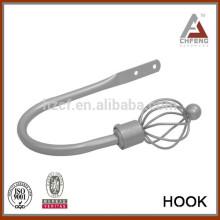 Accesorios de la barra de la cortina, holdbacks del codo, holdbacks del metal, accesorios de los accesorios de la cortina