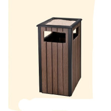 Reciclaje del cubo de basura / cubo de basura de madera (DL 113)