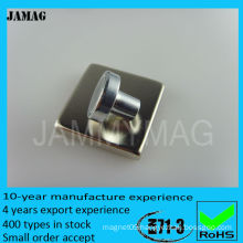 strong round mini magnetic base