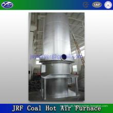 Carvão forno e fogão ardente de ar quente