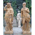 Escultura de mármore estátua escultura antiga pedra esculpida para decoração de jardim (sy-x1191)