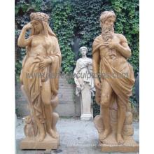 Geschnitzte Stein Skulptur Carving Marmor Statue mit Granit Sandstein (SY-C1084)