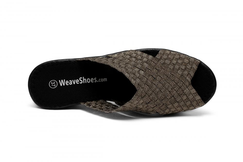 Woman Woven Upper Slippers