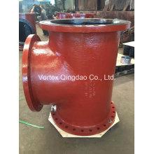 Awwa C110 Ductile Iron Flanged Tee