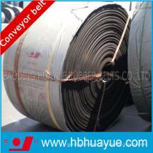 Tapis de transport ignifuge à noyau entier en PVC / PVC lourd