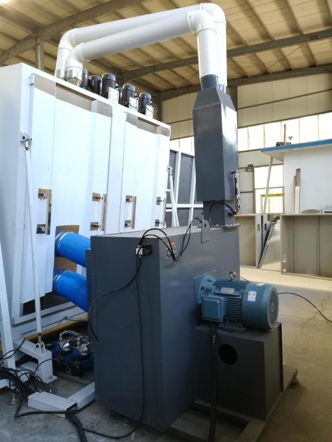 air fan of drying part in insulating glass production line