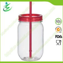 20 Unzen Mason Jar mit Plastik Stroh und Cover (MJ-F1)