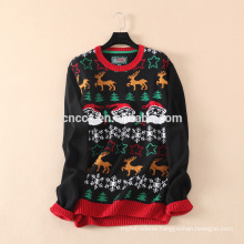 16JW6111 Christmas pullover sweater