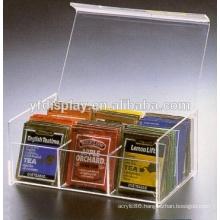 modern design acrylic box for tea packaging