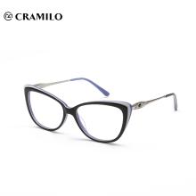 Fabricantes de marcos de gafas ópticas de acetato de moda de China