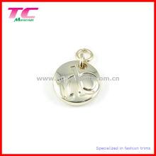 Custom Engraved Round Jewelry Tag