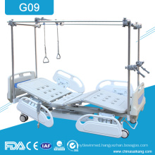 G09 Orthopeadics Physiotherapy Treatment Beds With Traction Frame