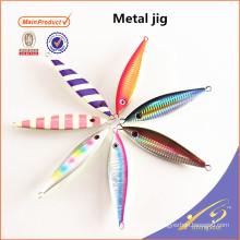 MJL054-1 Artificial bait speed lead fishing jigging lure metal bait 120g