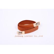 Ladies Belt Cinto cintura Cinto Elástico PU Belt