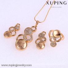61770-Xuping Fashion Woman Jewlery Set with 18K Gold Plated