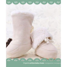 Winter Warm and Soft Baby Organic Cotton Shoes with Lovely Design