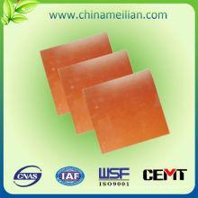 Aislamiento de hoja de laminado de fibra de vidrio epoxi