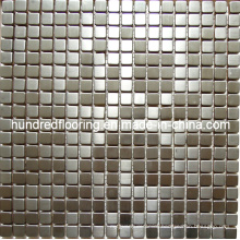 Silver Stainless Steel Metal Mosaic Wall Tile (SM233)