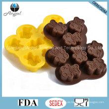 Molde al por mayor del silicón de la forma del oso para la herramienta si23