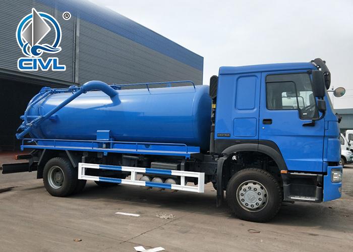 4x2 Howo Sewage Suction Truck 3