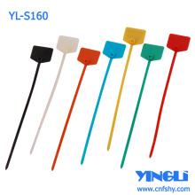 Marcador de cable ajustable de plástico