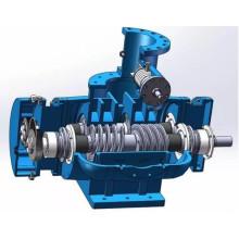 Screw type transport pump