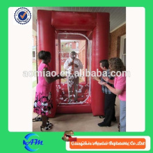 customized advertising inflatable cash grabber machine for sales