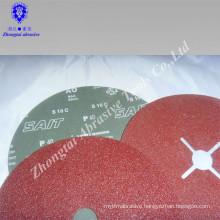 Yichang abrasive film flexible sanding disc abrasive 4.5