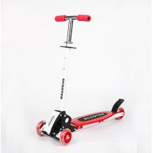 2017 Kids Child Flashing Wheel Push Kick Scooter
