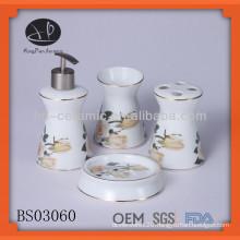 ceramic bath accessory set