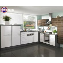 Contrachapado impermeable Gabinetes de cocina pequeños con puertas de laca brillante (personalizado)