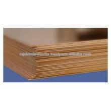 Anillo de aleación de cobre de tungsteno / hoja / hoja / tira
