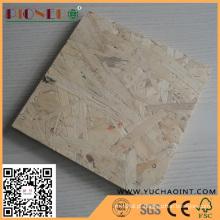 Painel de Linyi 18mm OSB com preço competitivo para móveis