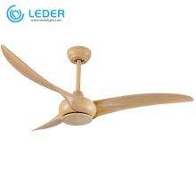 Ventilador de techo eléctrico de cabecera LEDER